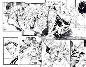 Shadow Sentry Page 2-3 Inks