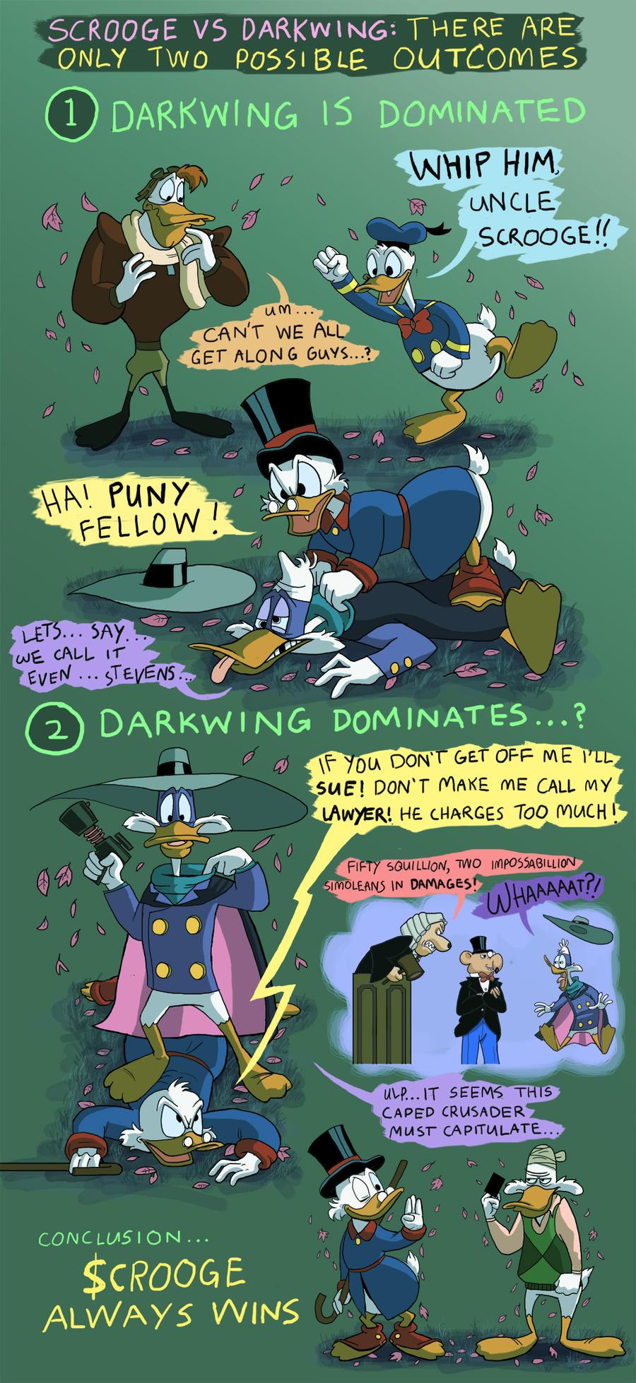 Scrooge McDuck vs Darkwing Duck: Conclusion by Xanadu7