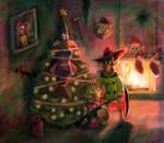Christmas art for gil-of-awesomeness