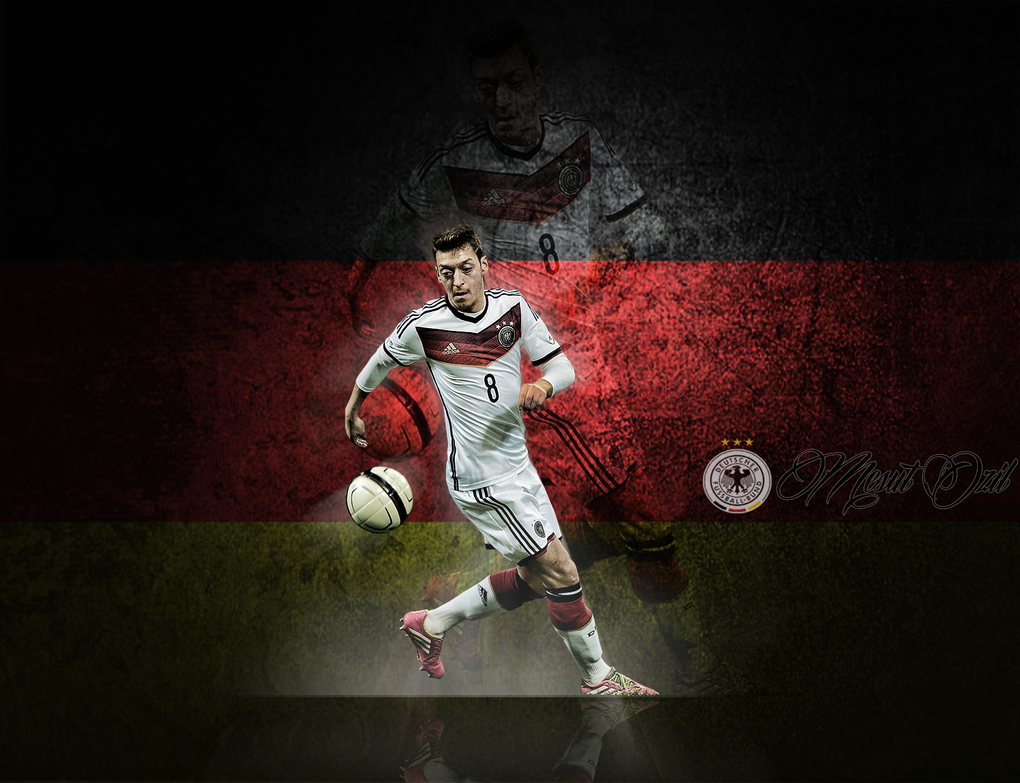 Mesut Ozil (Germany National Team) By EraldGFX On DeviantArt