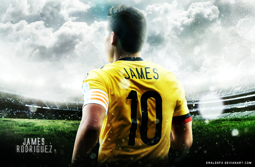 James rodriguez colombia 2015 wallpaper hd by eraldgfx on - James rodriguez wallpaper hd ...