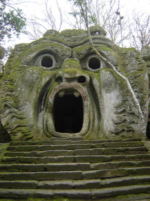 Bomarzo Monster Park 2 by Amor-Fati-Stock
