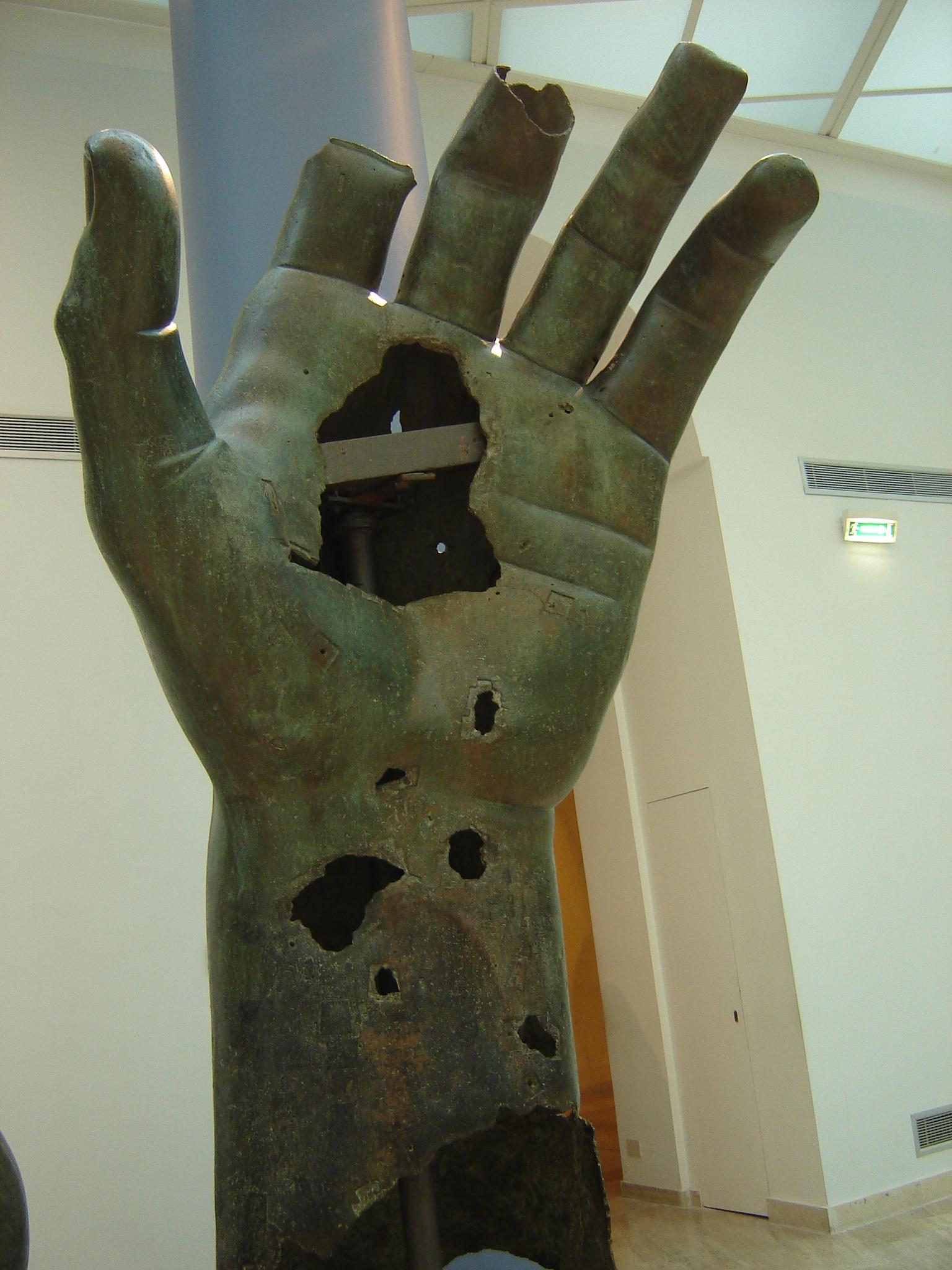 Apocalyptic Bronze Hand