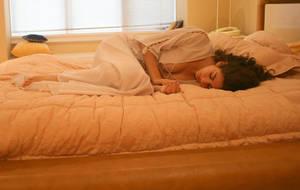 Sleeping Priestess by Amor-Fati-Stock