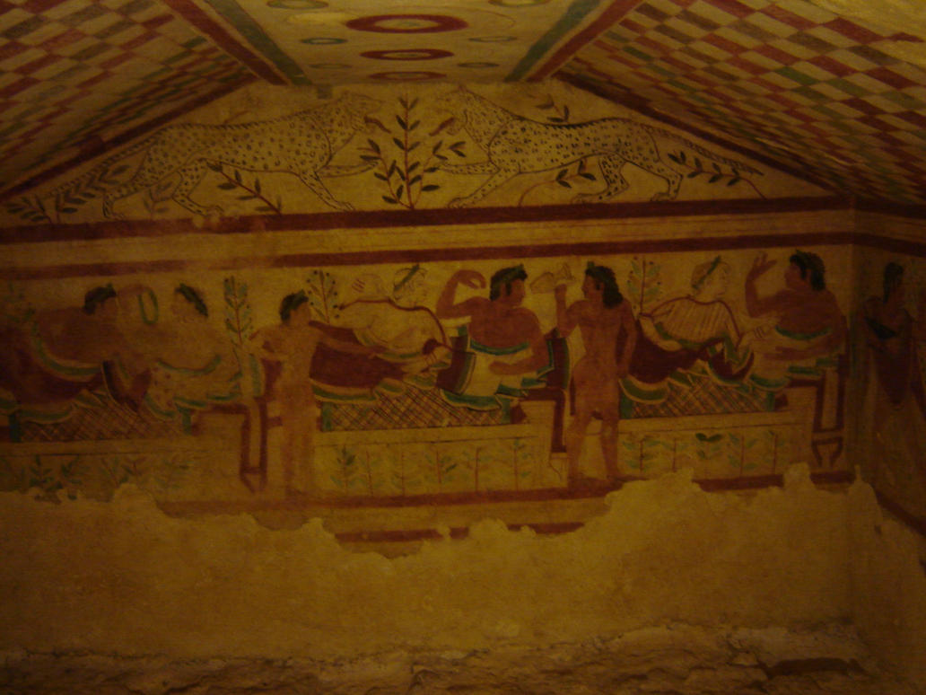 Etruscan Tomb by Amor-Fati-Stock