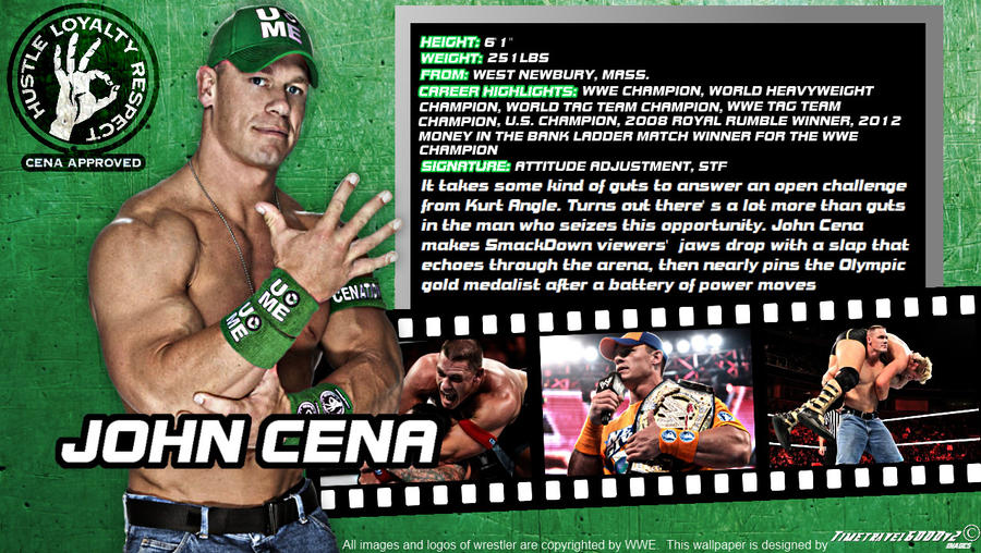 WWE John Cena ID Wallpaper Widescreen By Timetravel6000v2