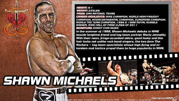 WWE Shawn Michaels ID Wallpaper Widescreen