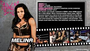 WWE Melina ID Wallpaper Widescreen