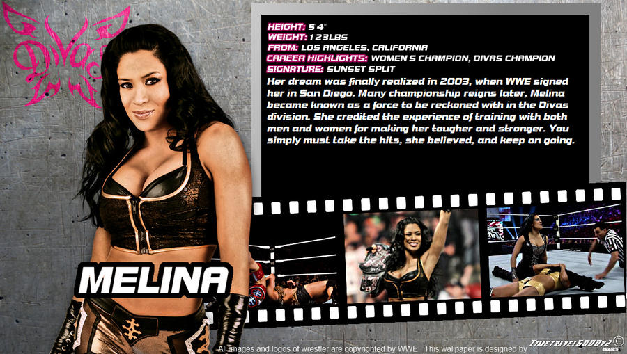 WWE Melina ID Wallpaper Widescreen By Timetravel6000v2 On