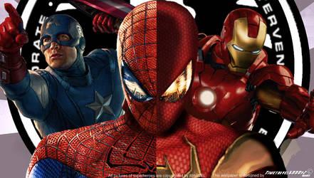 Marvel's Civil War Movie Wallpaper Widescreen by Timetravel6000v2