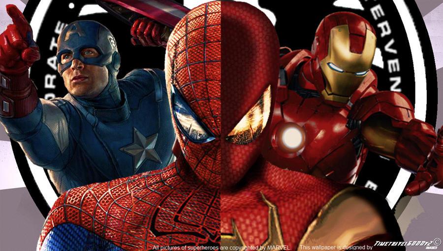 marvel s civil war wallpaper widescreen by