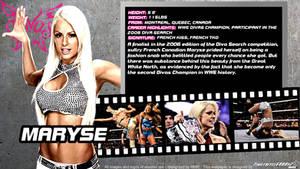 WWE Maryse ID Wallpaper Widescreen