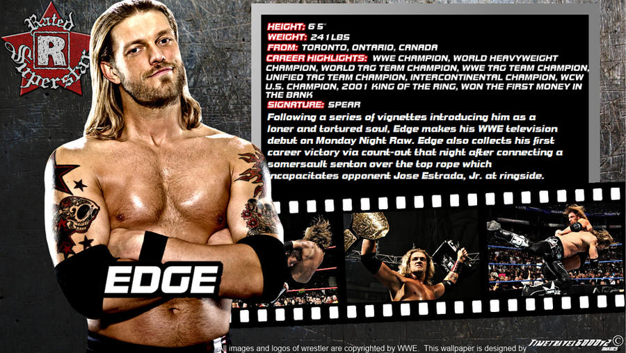 WWE Edge ID Wallpaper Widescreen by Timetravel6000v2