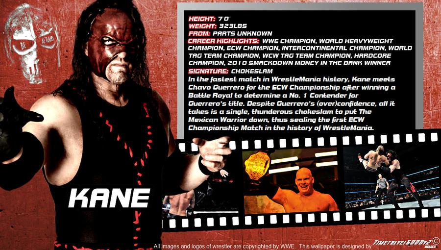 WWE Kane ID Wallpaper Widescreen by Timetravel6000v2