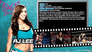 WWE AJ Lee ID Wallpaper Widescreen