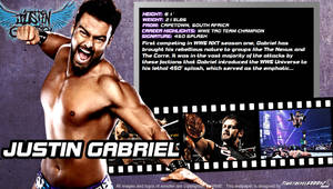 WWE Justin Gabriel ID Wallpaper Widescreen