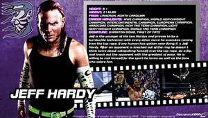 WWE Jeff Hardy ID Wallpaper Widescreen by Timetravel6000v2