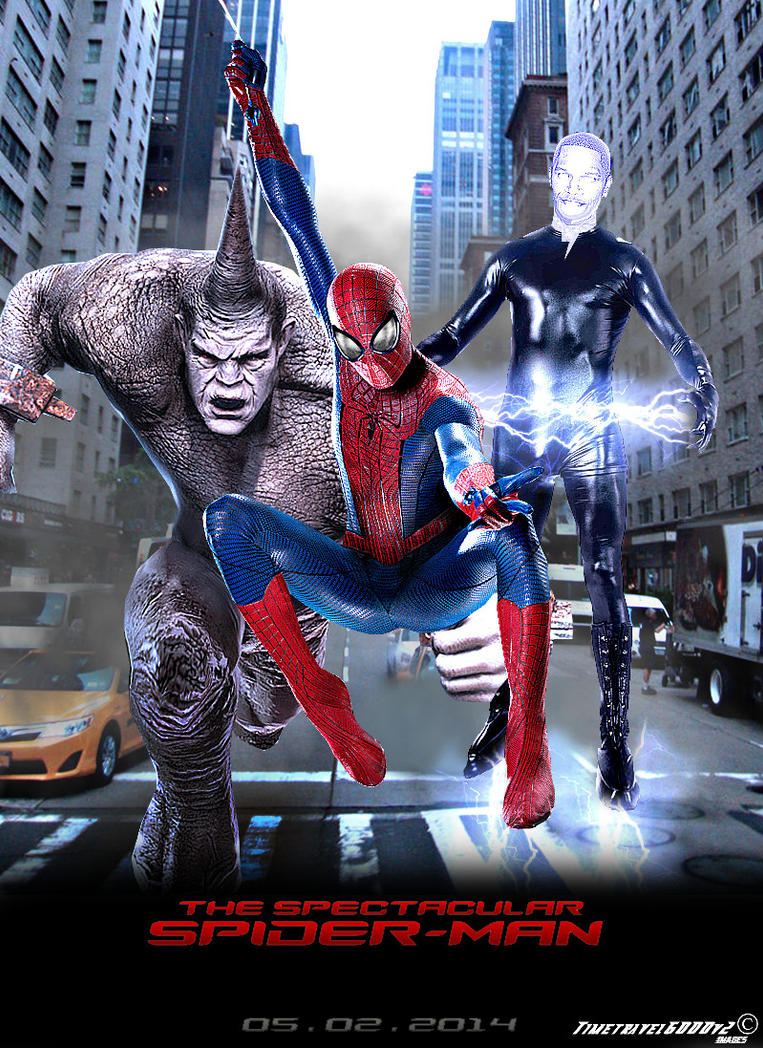 The Amazing Spider-man 2 Movie Poster Fanmade by Timetravel6000v2