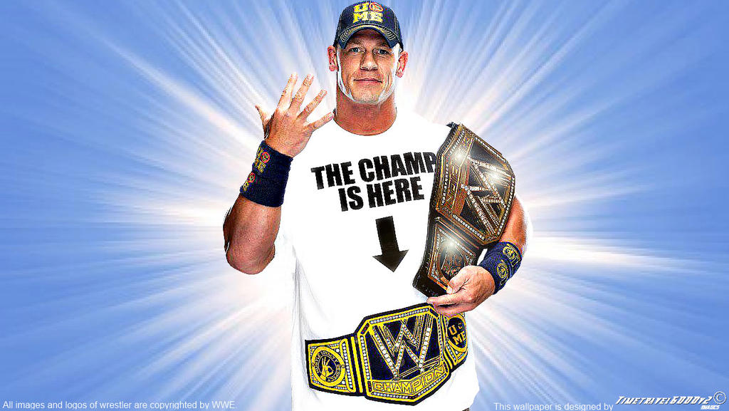 John Cena New WWE Champion 2013 Wallpaper Widescre by ...  John Cena New W...