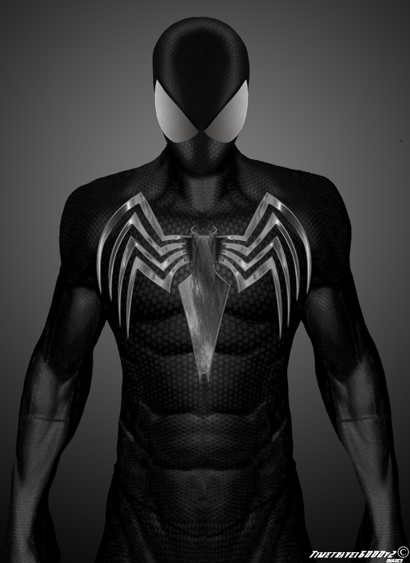 Black Suit in The Amazing Spider-man by Timetravel6000v2 on DeviantArt