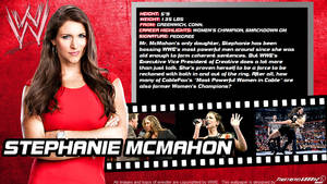 WWE Stephanie Mcmahon ID Wallpaper Widescreen by Timetravel6000v2