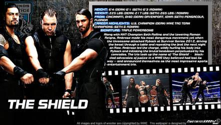 WWE The Shield ID Wallpaper Widescreen