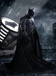 Batman v Superman: Dawn of Justice Batman Poster by Timetravel6000v2