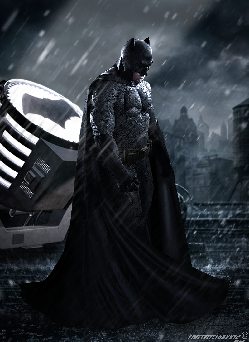 Batman v Superman: Dawn of Justice Batman Poster by Timetravel6000v2