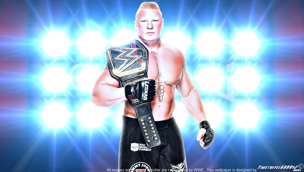 WWE Brock Lesnar WHC Wallpaper Widescreen By Timetravel6000v2