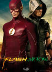 The Flash and Green Arrow CW TV Poster