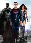 DCEU Trinity Poster (Batman Superman Wonder Woman)