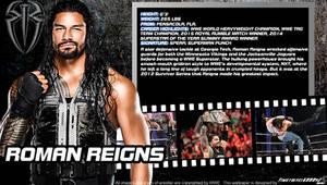 WWE Roman Reigns ID Wallpaper Widescreen