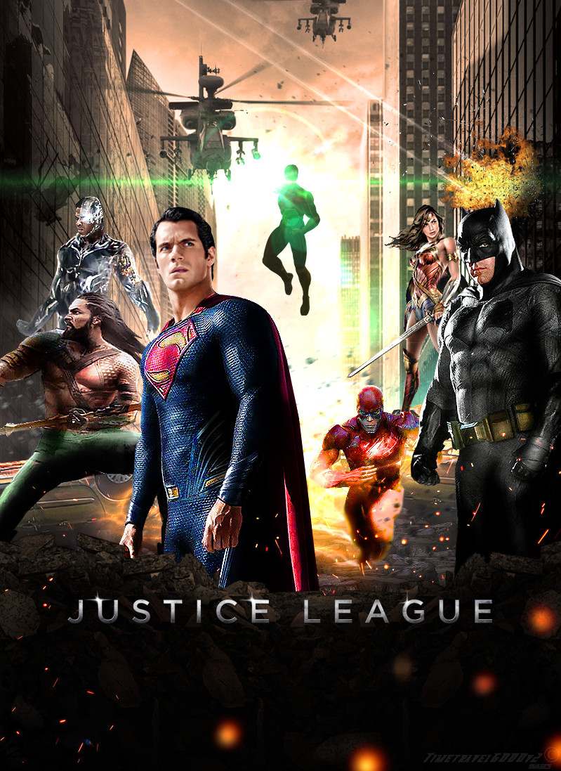 Justice League 2017 Movie Poster by Timetravel6000v2 on ...