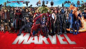 Marvel Cinematic Multiverse Wallpaper Widescreen 2