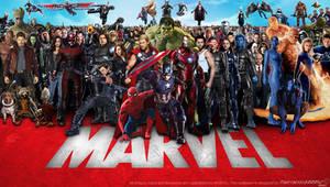 Marvel Cinematic Multiverse Wallpaper Widescreen 2