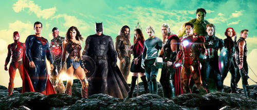 Justice League and Avengers