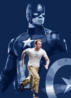Steve Rogers: Captain America by Timetravel6000v2