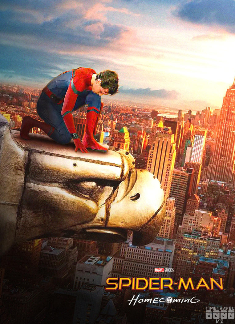 Poster Spiderman Empire State Building