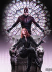 Daredevil and Black Widow Poster