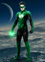 Armie Hammer as DCEU Green Lantern by Timetravel6000v2