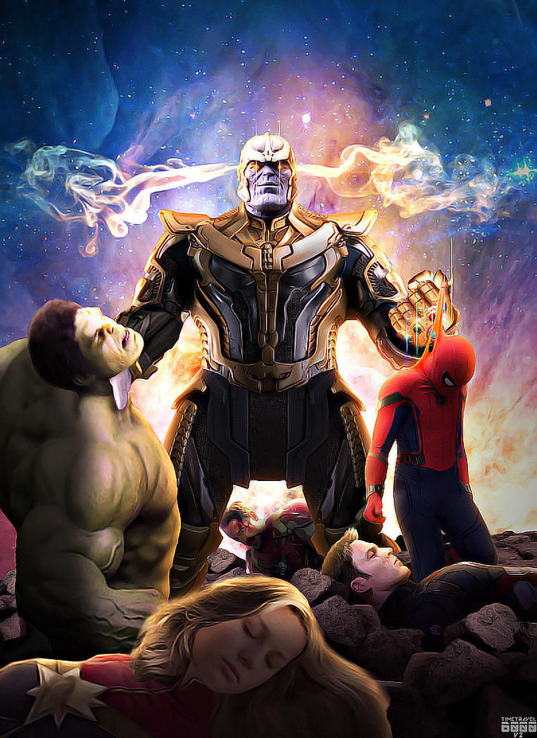 Avengers Infinity War Poster by Timetravel6000v2