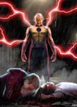 Rebirth Batman # 22 Reverse Flash CW Version