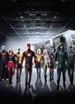 CW DCTV Poster Supergirl Flash Arrow LOT