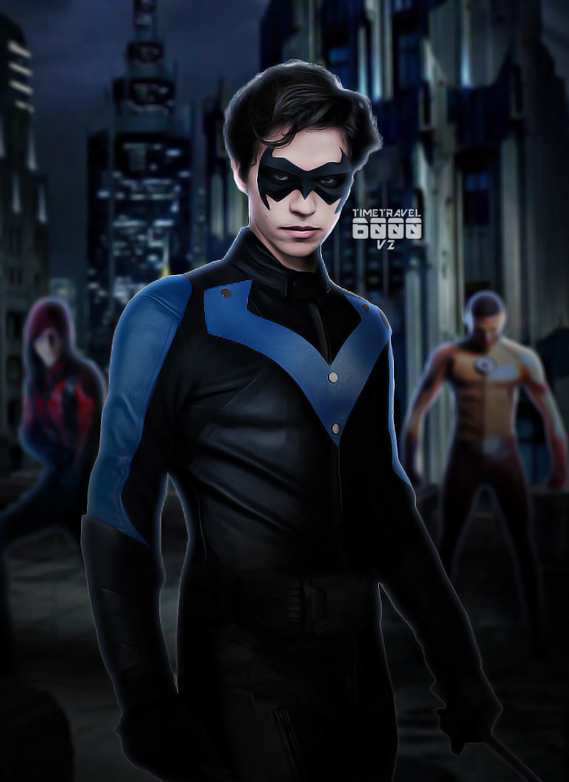 Cw Nightwing By Timetravel6000v2 On Deviantart