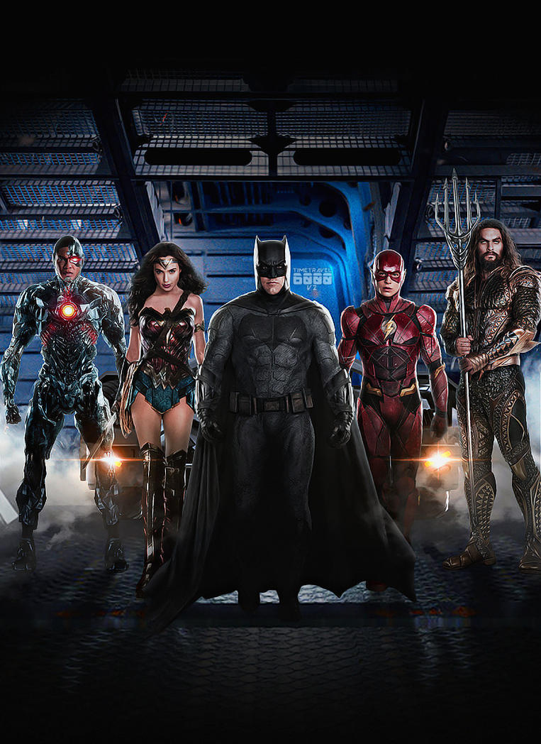 Justice League Poster by Timetravel6000v2