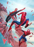 Spider men by Timetravel6000v2