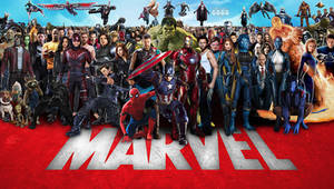 Marvel Cinematic Multiverse Wallpaper Widescreen 3