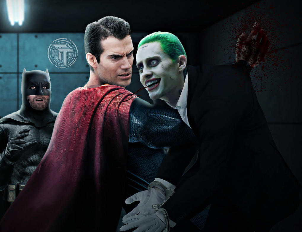 Superman Kills The Joker by Timetravel6000v2
