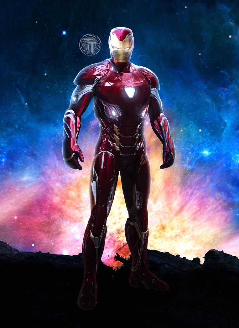 Iron Man New Armor Avengers Infinity War Mark 48 by