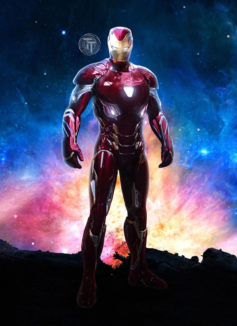 iron man new armor avengers infinity war mark 48timetravel6000v2